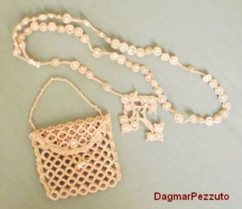 Rosary and Bag by Dagmar Pezzuto